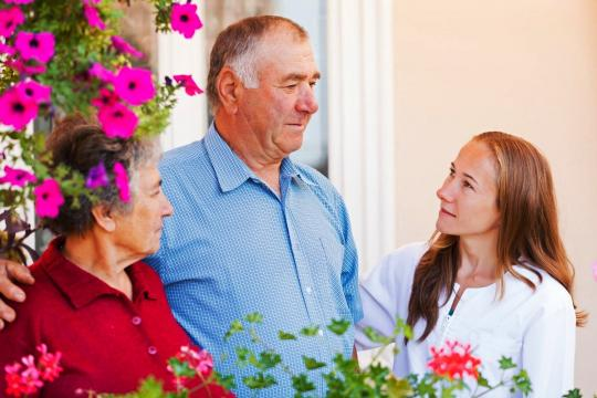 Mature couple with HCA
